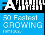 financial advisor 50 fastest growing firms 2020